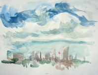 April 5, 2011 water colour landscape