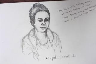 Melanie sketch
