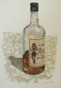 Spiced Rum, Dec. 8, 2011 watercolour on paper