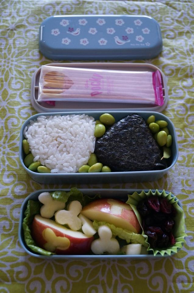 Tuna Soboro Onigiri Bento Box.
