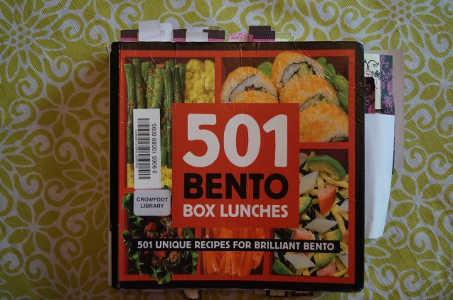 501 Bento Box lunches book.