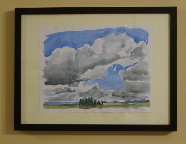 Cloudy Sky, 2014
