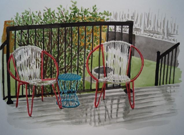 Rainy Day Deck, Jun. 10, 2017