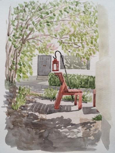 Sideyard View, Jun. 9, 2017