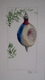 Ornament 23, Nov. 2017, watercolour on paper